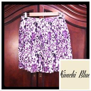 "XS/S ""Kimchi Blue"" Pocket Mini Skirt Purple 🐆"